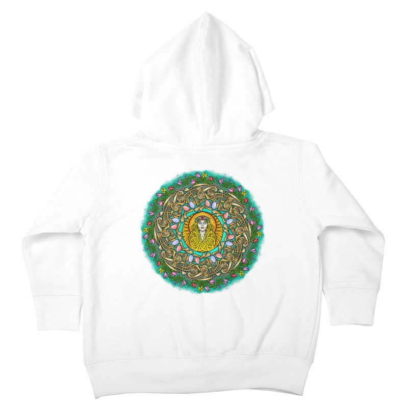 Ēostre Kids Toddler Zip-Up Hoody by Celtic Hammer Club