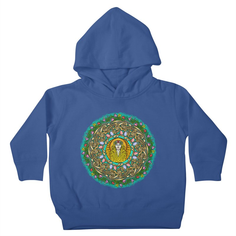 Ēostre Kids Toddler Pullover Hoody by Celtic Hammer Club