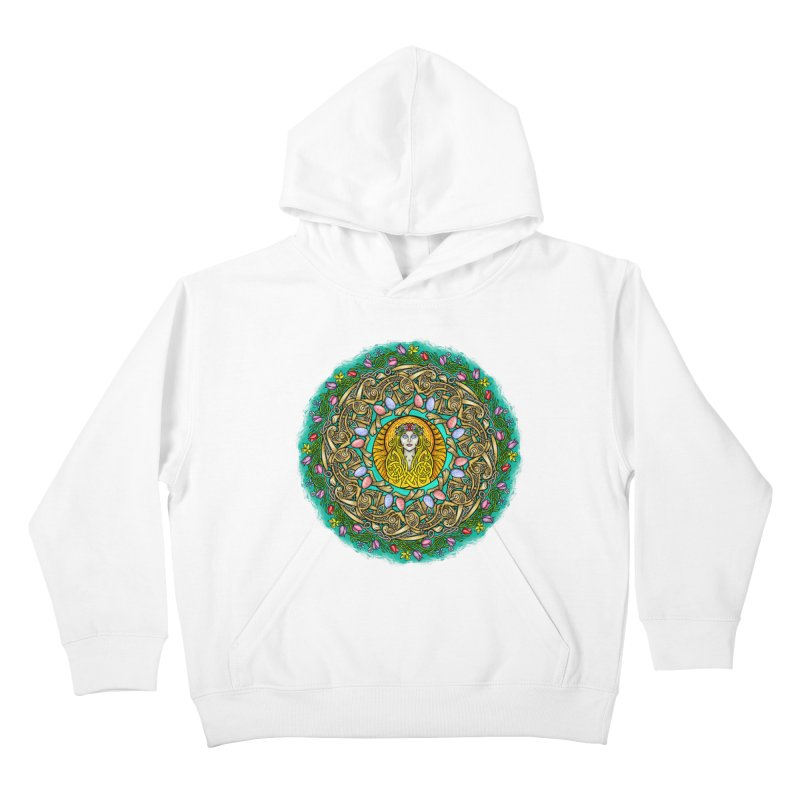 Ēostre Kids Pullover Hoody by Celtic Hammer Club