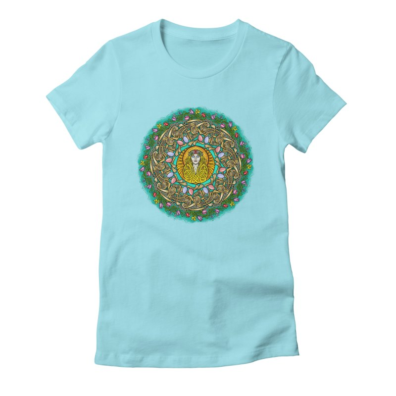 Ēostre Women's Fitted T-Shirt by Celtic Hammer Club