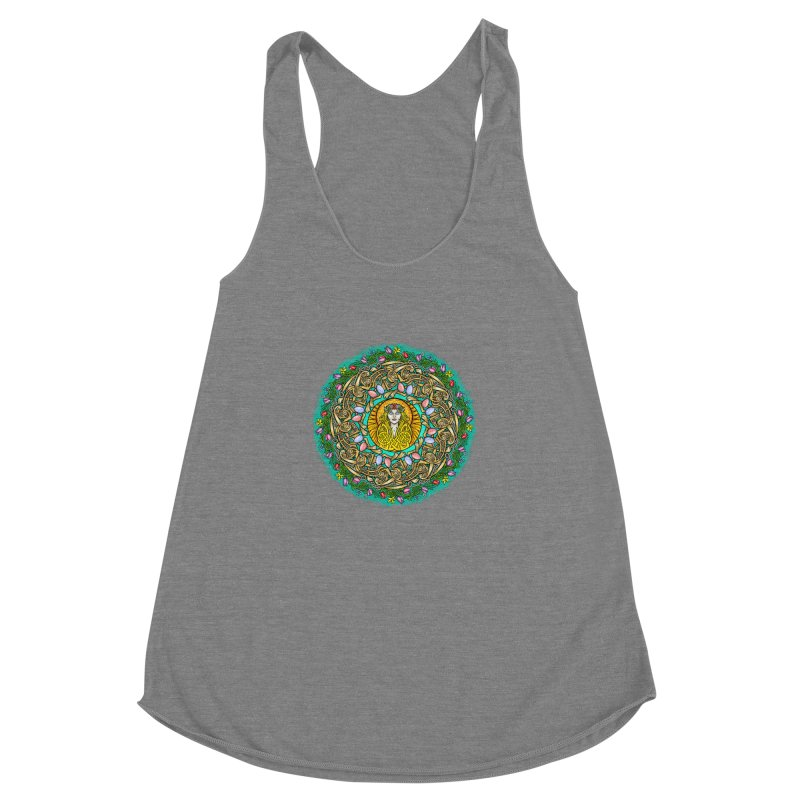 Ēostre Women's Racerback Triblend Tank by Celtic Hammer Club