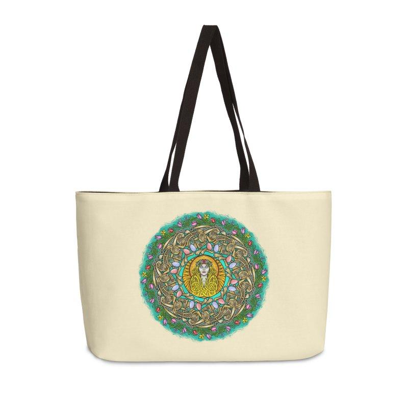 Ēostre Accessories Weekender Bag Bag by Celtic Hammer Club