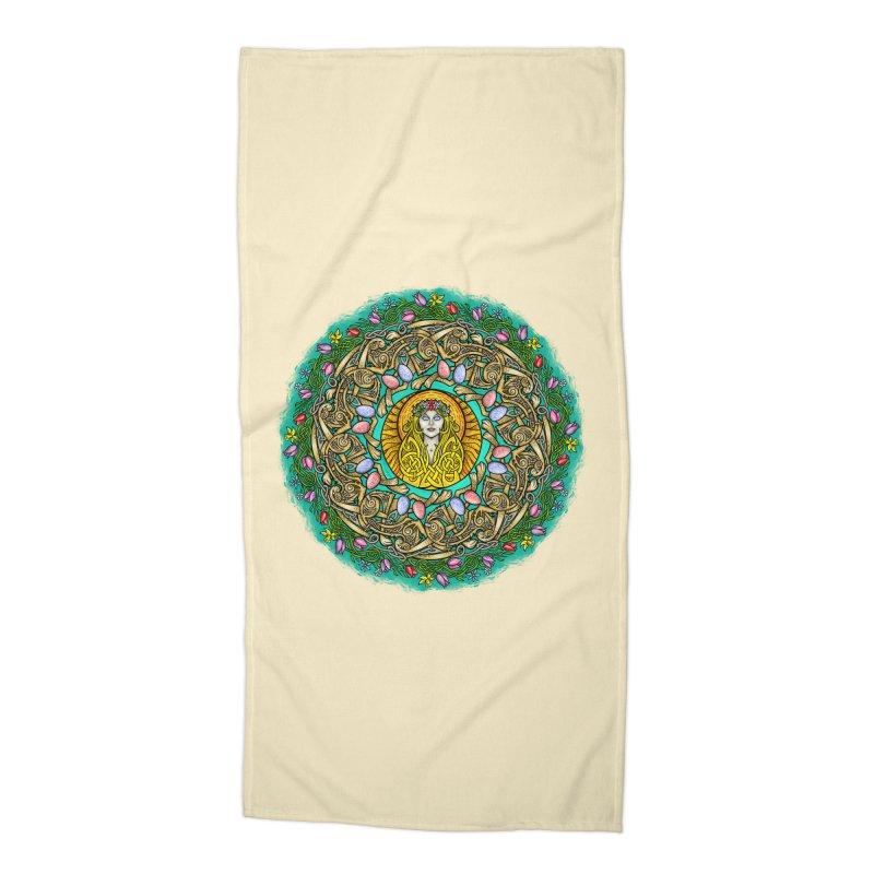 Ēostre Accessories Beach Towel by Celtic Hammer Club
