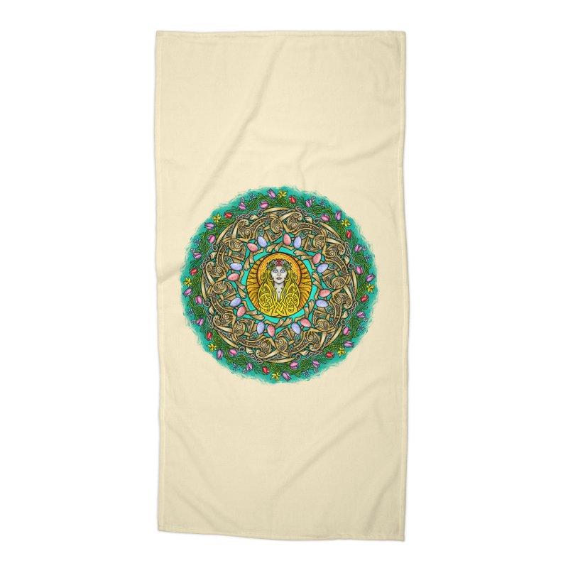 Ēostre Accessories Beach Towel by Celtic Hammer Club