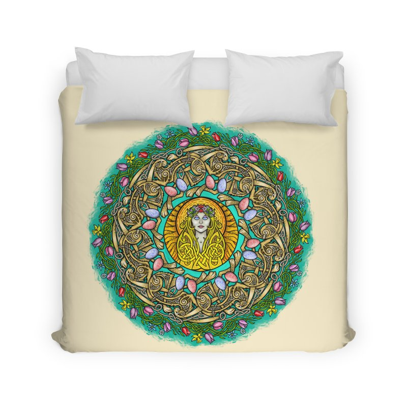 Ēostre Home Duvet by Celtic Hammer Club