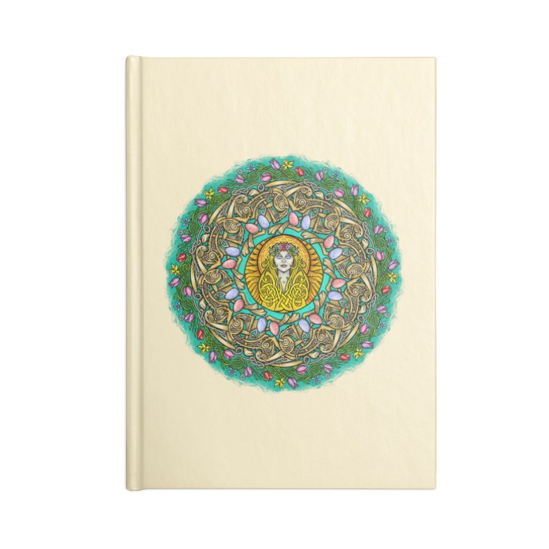 Ēostre Accessories Blank Journal Notebook by Celtic Hammer Club