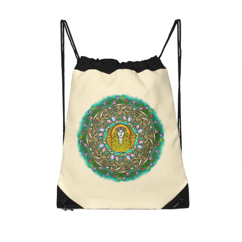 Ēostre Accessories Drawstring Bag Bag by Celtic Hammer Club