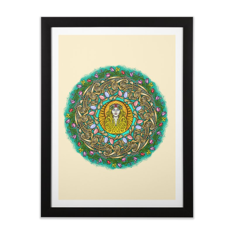 Ēostre Home Framed Fine Art Print by Celtic Hammer Club