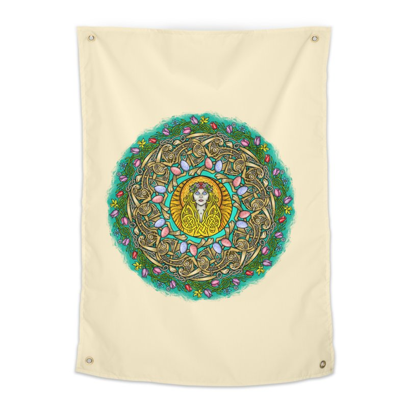Ēostre Home Tapestry by Celtic Hammer Club