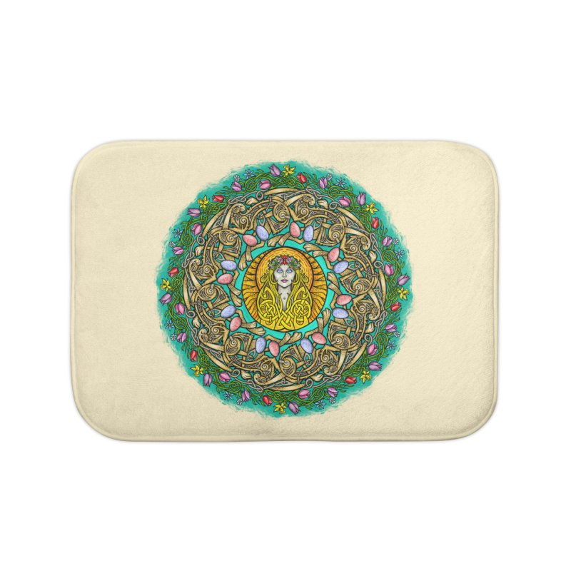 Ēostre Home Bath Mat by Celtic Hammer Club