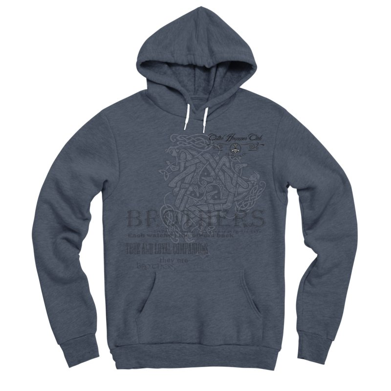 Brothers Graphic Tee Women's Sponge Fleece Pullover Hoody by Celtic Hammer Club