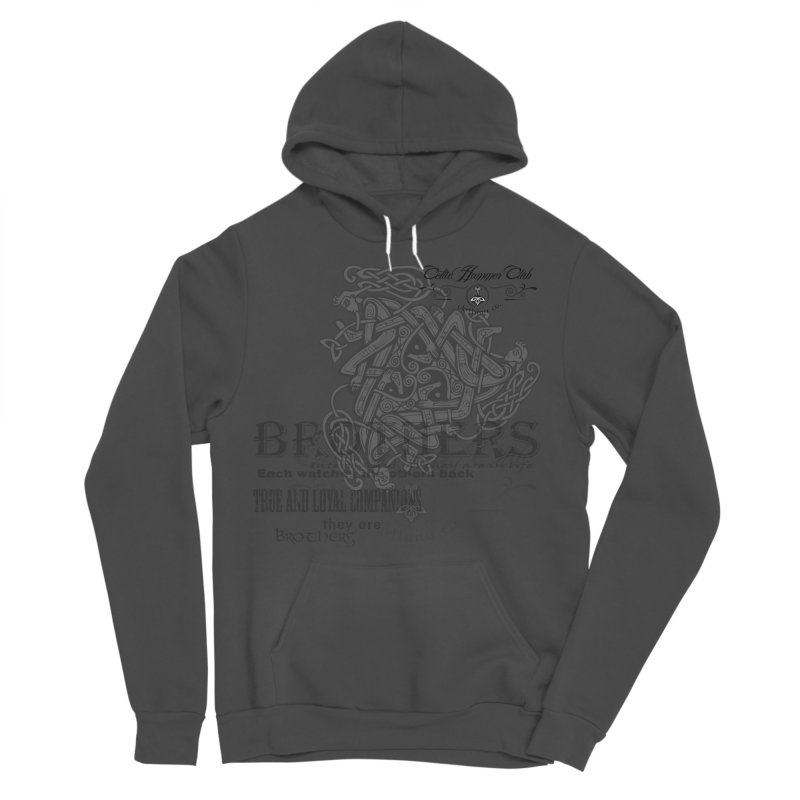 Brothers Graphic Tee Men's Sponge Fleece Pullover Hoody by Celtic Hammer Club