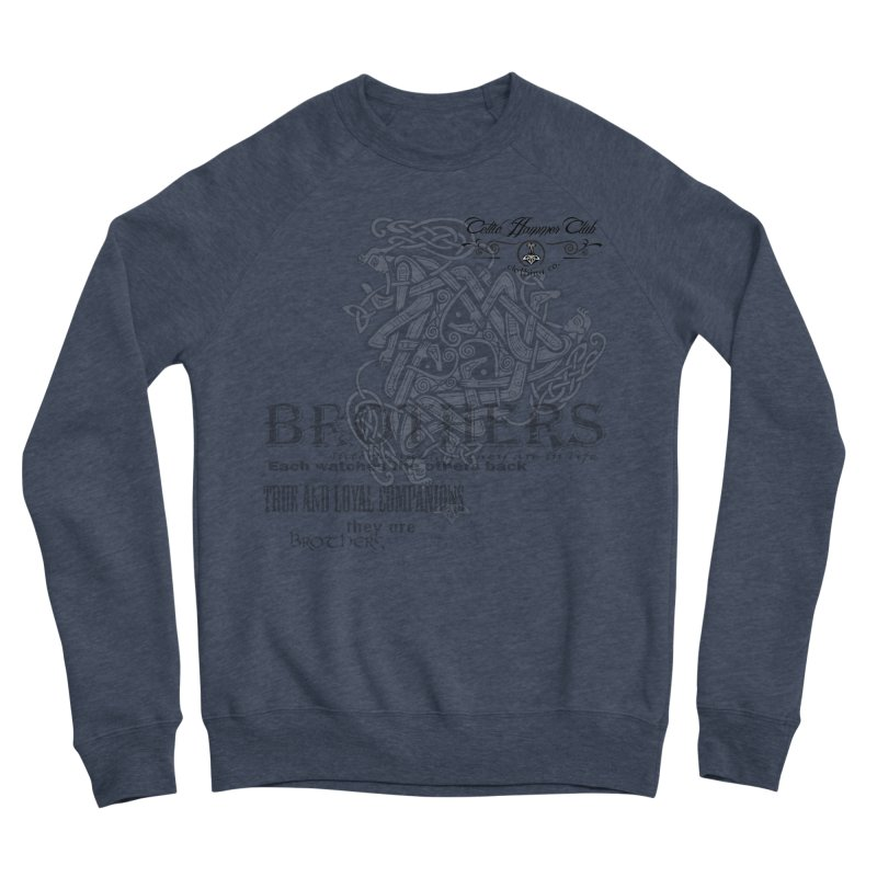 Brothers Graphic Tee Men's Sponge Fleece Sweatshirt by Celtic Hammer Club