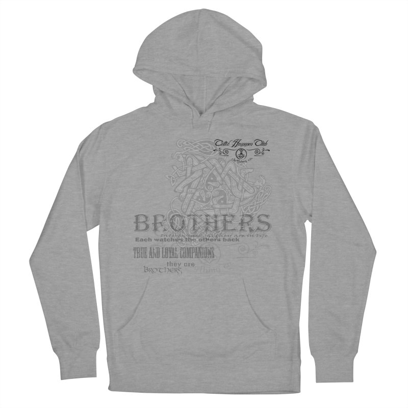 Brothers Graphic Tee Women's French Terry Pullover Hoody by Celtic Hammer Club