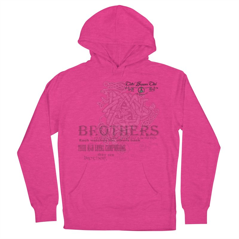 Brothers Graphic Tee Men's French Terry Pullover Hoody by Celtic Hammer Club