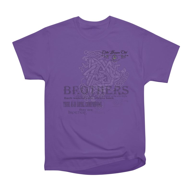 Brothers Graphic Tee Men's Heavyweight T-Shirt by Celtic Hammer Club
