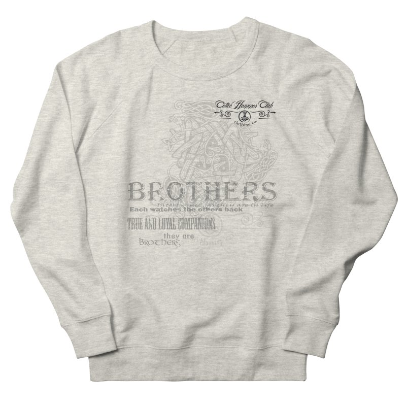 Brothers Graphic Tee Men's French Terry Sweatshirt by Celtic Hammer Club