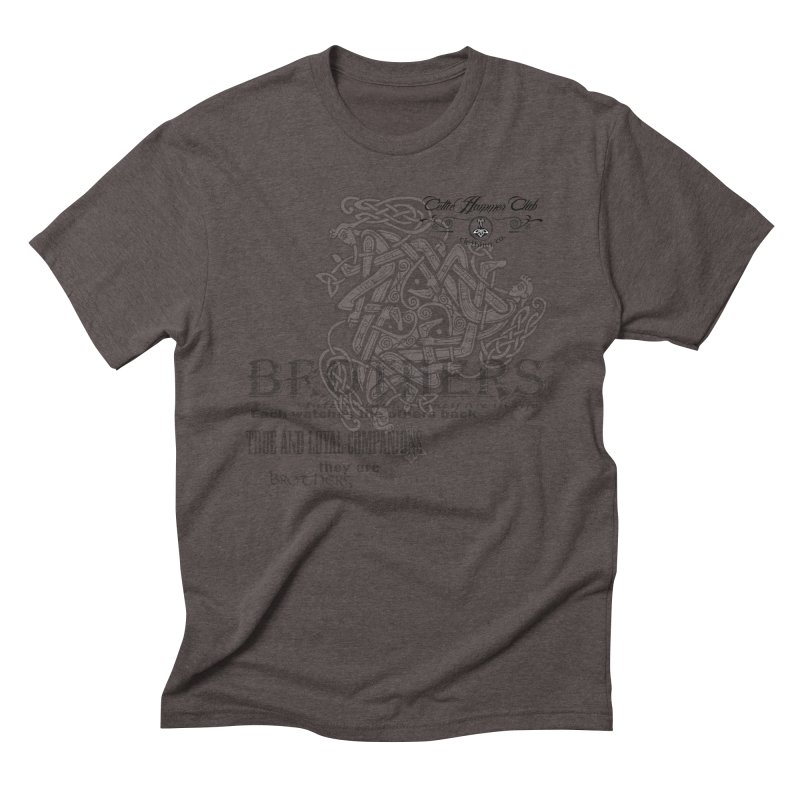 Brothers Graphic Tee Men's Triblend T-Shirt by Celtic Hammer Club