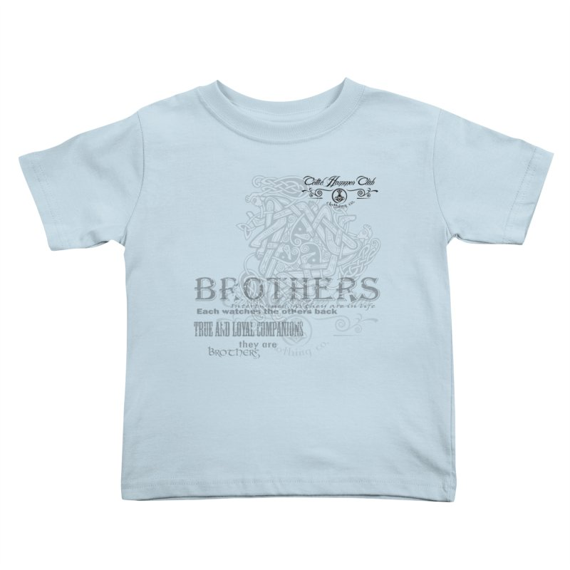 Brothers Graphic Tee Kids Toddler T-Shirt by Celtic Hammer Club