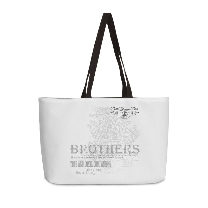 Brothers Graphic Tee Accessories Weekender Bag Bag by Celtic Hammer Club
