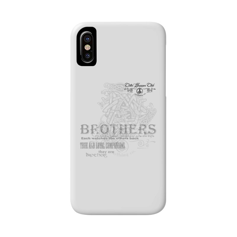 Brothers Graphic Tee Accessories Phone Case by Celtic Hammer Club