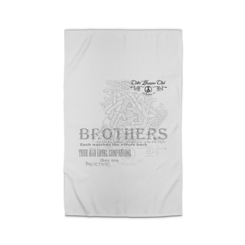 Brothers Graphic Tee Home Rug by Celtic Hammer Club