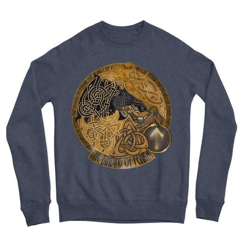 The Binding of Fenrir Women's Sponge Fleece Sweatshirt by Celtic Hammer Club