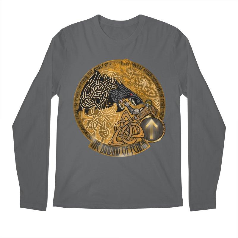 The Binding of Fenrir Men's Longsleeve T-Shirt by Celtic Hammer Club