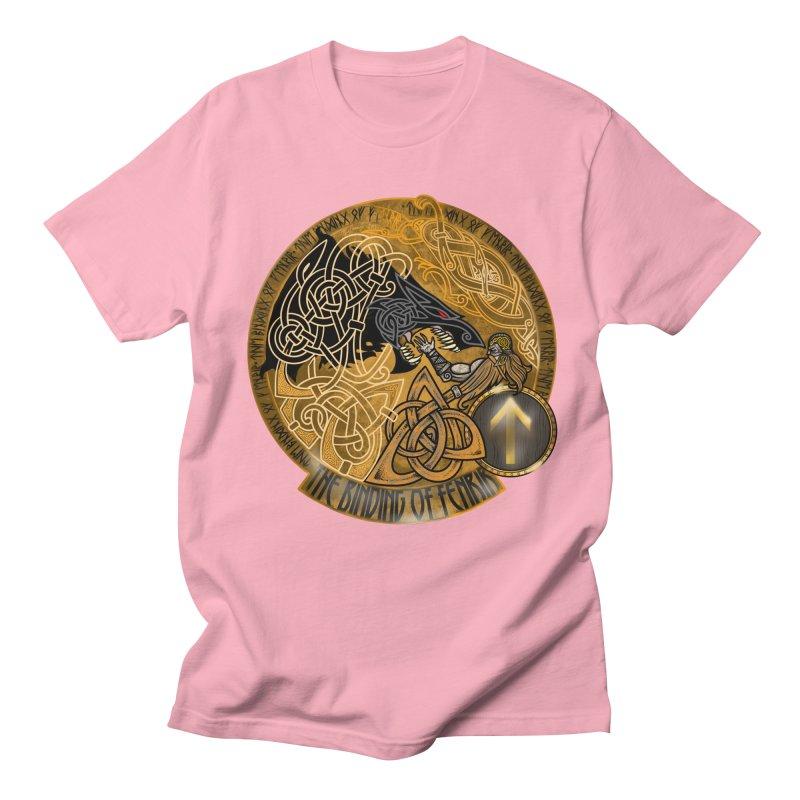 The Binding of Fenrir Men's T-Shirt by Celtic Hammer Club