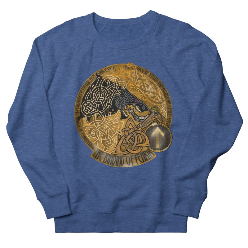 The Binding of Fenrir Men's Sweatshirt by Celtic Hammer Club