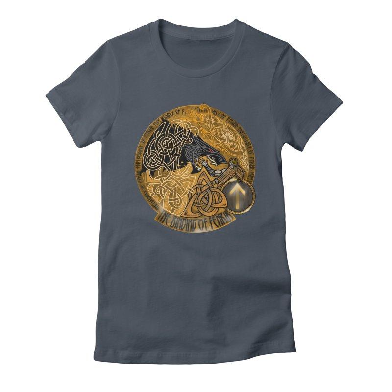 The Binding of Fenrir Women's T-Shirt by Celtic Hammer Club