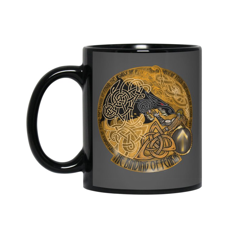 The Binding of Fenrir Accessories Mug by Celtic Hammer Club
