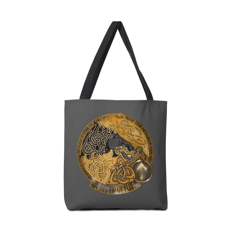 The Binding of Fenrir Accessories Tote Bag Bag by Celtic Hammer Club