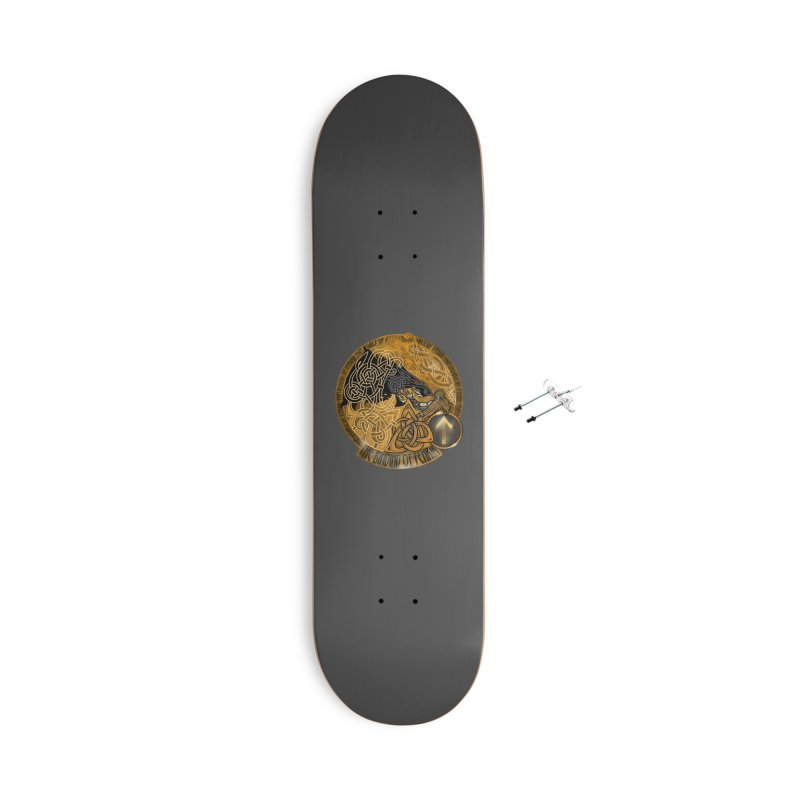 The Binding of Fenrir Accessories Skateboard by Celtic Hammer Club