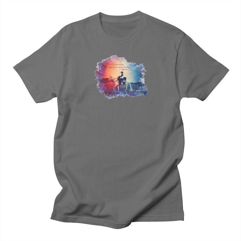 Red White and Blue (with quote) Men's T-Shirt by Centauride Store