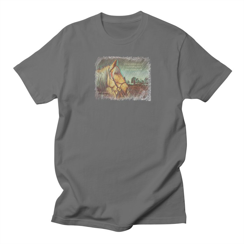 Apollo in Pencil (with quote) Men's T-Shirt by Centauride Store