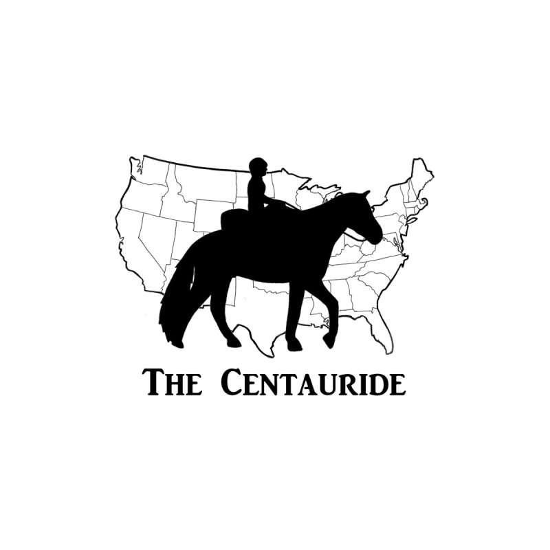 48 States Silhouette (black) Men's T-Shirt by Centauride Store