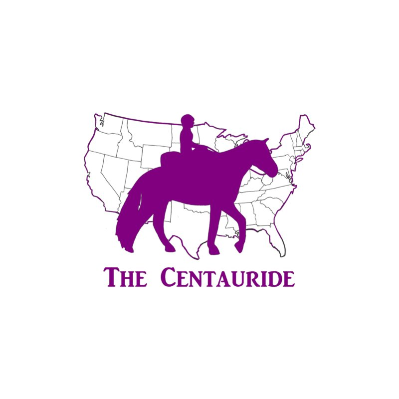 48 States Silhouette (purple) Men's T-Shirt by Centauride Store