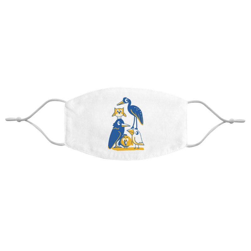 Birds of a Feather Accessories Face Mask by CephalopodArt