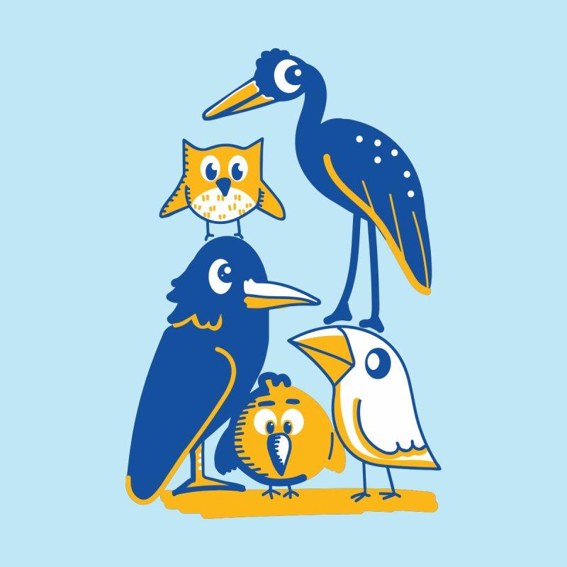 Birds of a Feather Women's T-Shirt by CephalopodArt