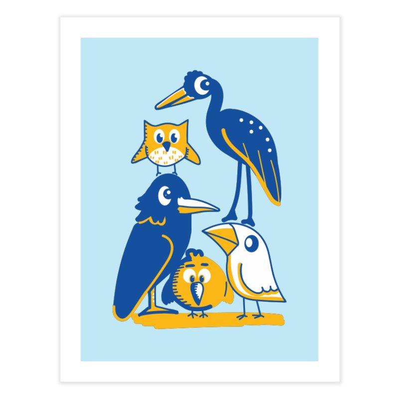 Birds of a Feather Home Fine Art Print by CephalopodArt