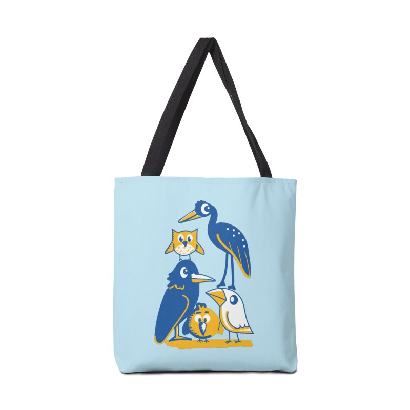 Birds of a Feather Accessories Bag by CephalopodArt