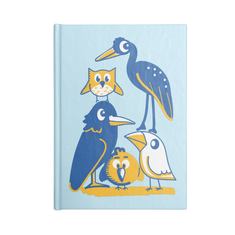 Birds of a Feather Accessories Notebook by CephalopodArt