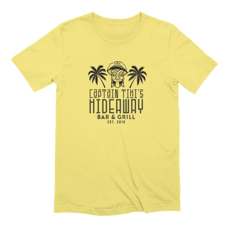 Captain Tiki's Hideaway Men's T-Shirt by Cereal at Midnight Store