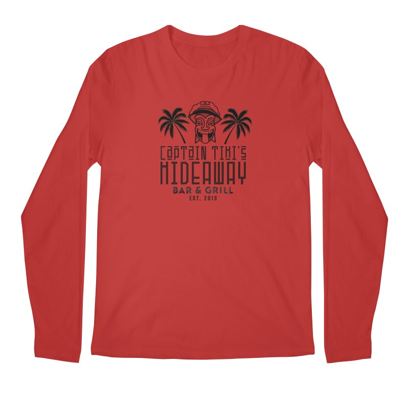Captain Tiki's Hideaway Men's Longsleeve T-Shirt by Cereal at Midnight Store