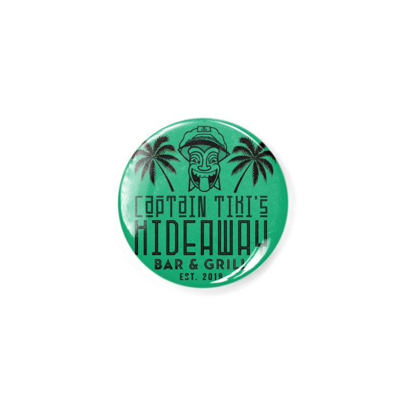 Captain Tiki's Hideaway Accessories Button by Cereal at Midnight Store
