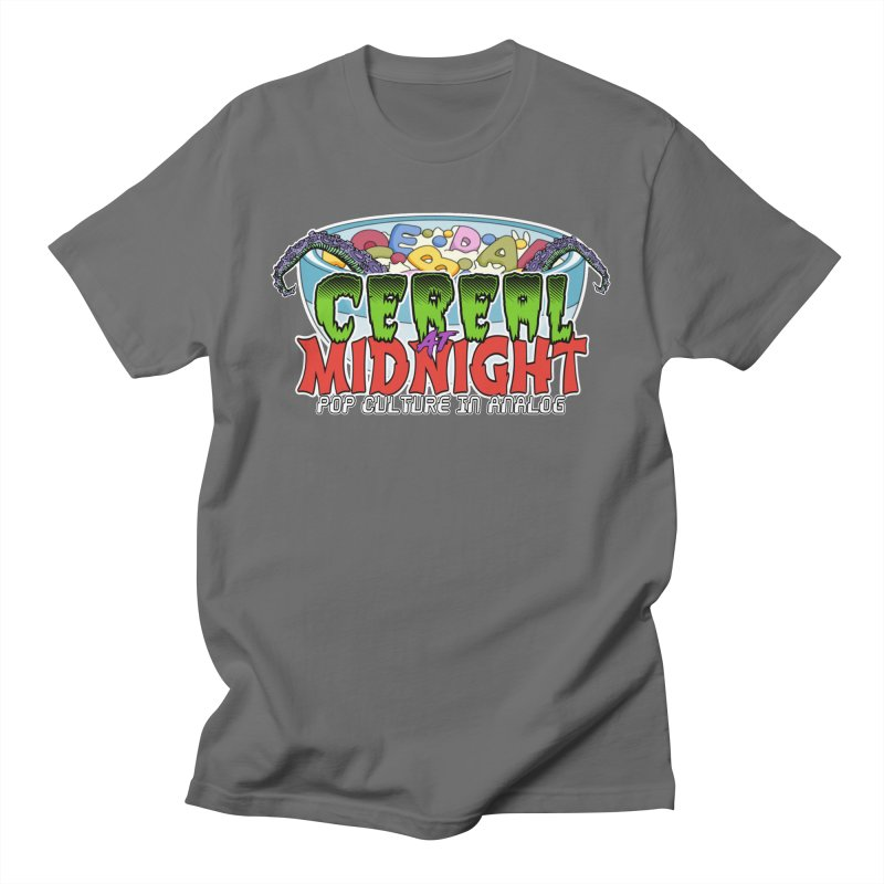It Came From the Cereal Bowl! Men's T-Shirt by Cereal at Midnight Store
