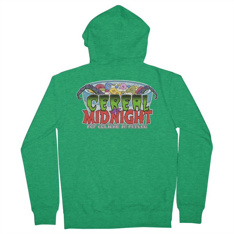 It Came From the Cereal Bowl! Men's Zip-Up Hoody by Cereal at Midnight Store