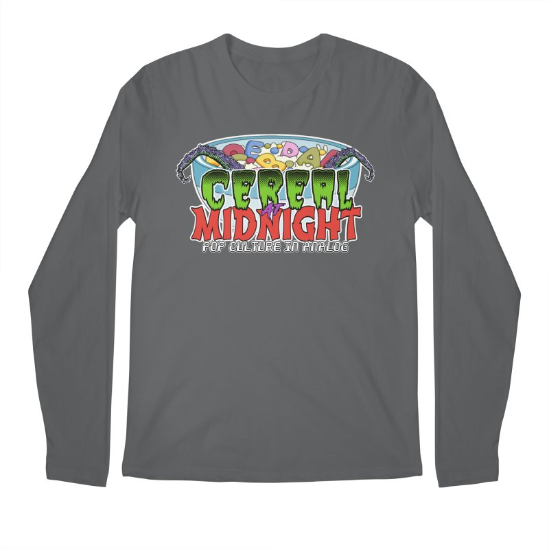 It Came From the Cereal Bowl! Men's Longsleeve T-Shirt by Cereal at Midnight Store