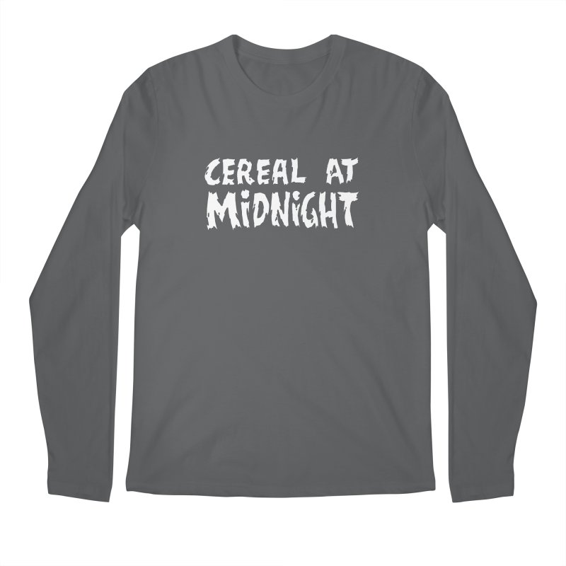 Creepy Logo Men's Longsleeve T-Shirt by Cereal at Midnight Store